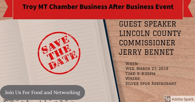 Troy Mt Chamber Business after Business event